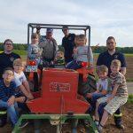 Bambinis besuchen unseren Landwirt
