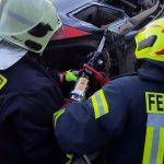 Übung: Technische Hilfeleistung Verkehrsunfall (TH-VU)