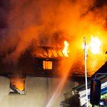 Wohngebäudebrand
