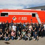 Jugendfeuerwehr besucht die Berufsfeuerwehr Frankfurt am Main