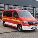 Neues Mannschaftstransportfahrzeug wird in Dienst gestellt