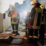 Alarmübung: Kellerbrand