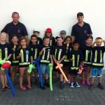 Übernachtung im Feuerwehrhaus mit Bambini Olympiade