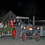 Der Nikolaus zu Besuch bei der Feuerwehr Florstadt