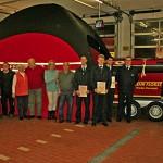 Jahreshauptversammlung der Feuerwehr Nieder-Florstadt mit Ehrungen und Beförderungen